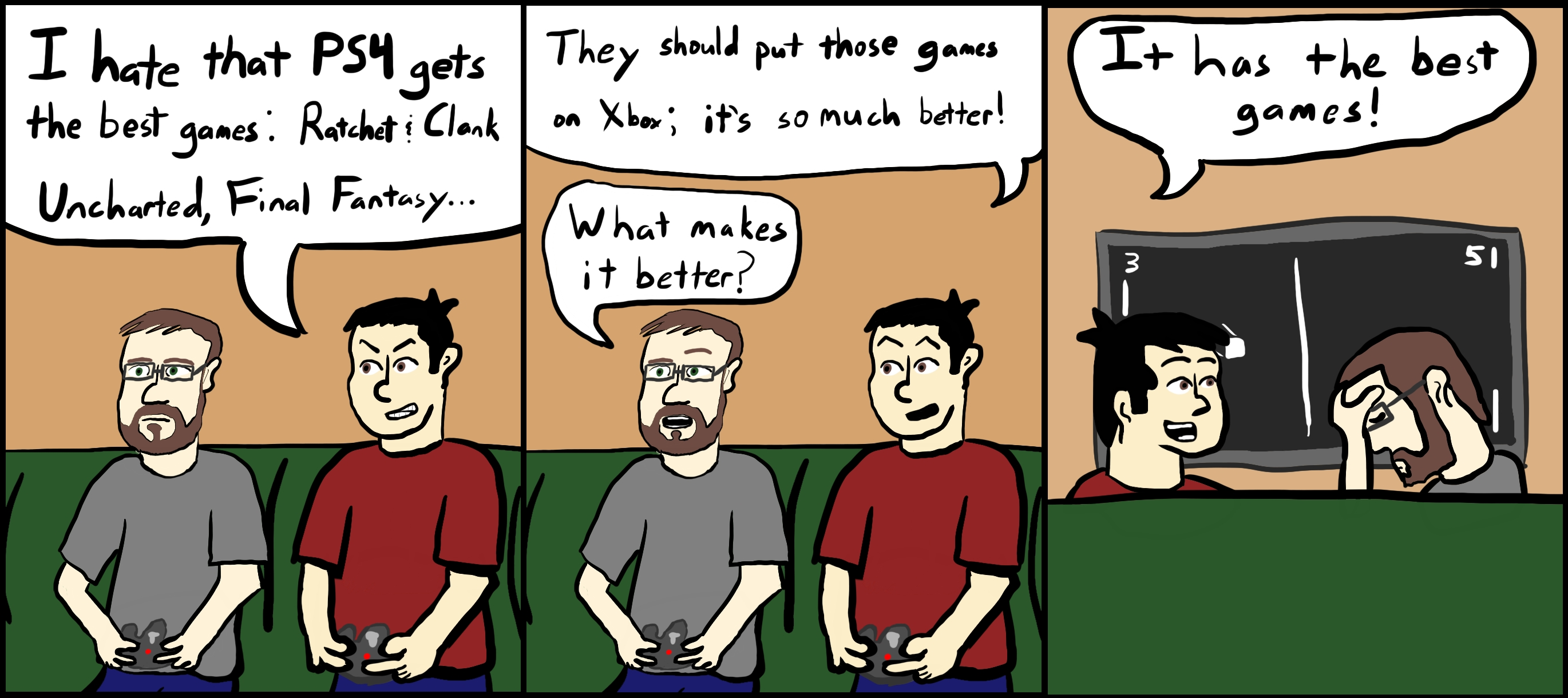 0063 – Obligatory Video Game Comic Strip